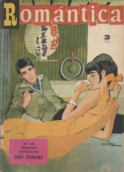 Cover for Romantica (Ibero Mundial de ediciones, 1961 series) #141
