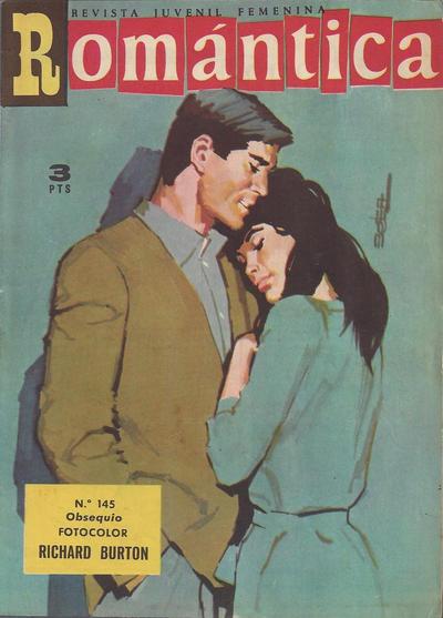 Cover for Romantica (Ibero Mundial de ediciones, 1961 series) #145