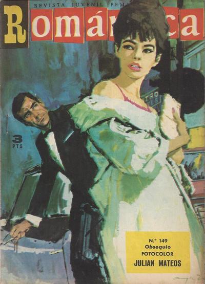 Cover for Romantica (Ibero Mundial de ediciones, 1961 series) #149