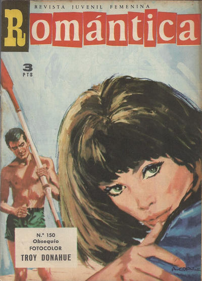 Cover for Romantica (Ibero Mundial de ediciones, 1961 series) #150