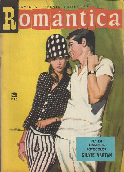 Cover for Romantica (Ibero Mundial de ediciones, 1961 series) #151