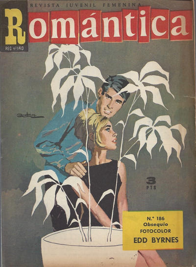 Cover for Romantica (Ibero Mundial de ediciones, 1961 series) #186