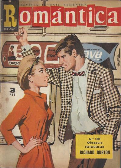 Cover for Romantica (Ibero Mundial de ediciones, 1961 series) #180