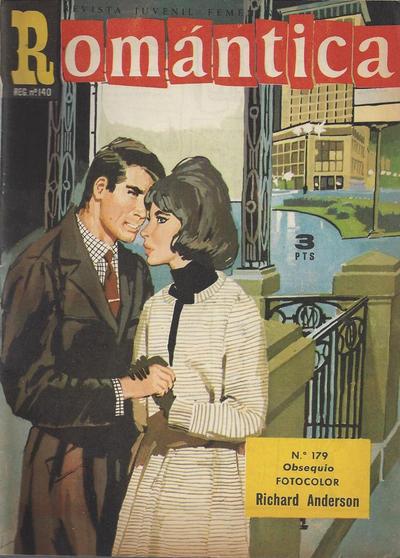 Cover for Romantica (Ibero Mundial de ediciones, 1961 series) #179