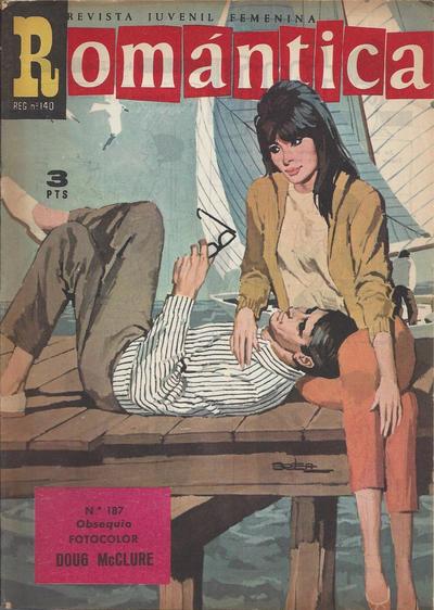 Cover for Romantica (Ibero Mundial de ediciones, 1961 series) #187