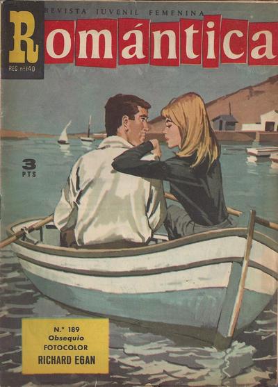 Cover for Romantica (Ibero Mundial de ediciones, 1961 series) #189