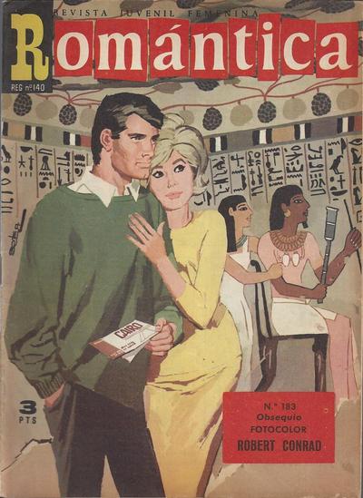 Cover for Romantica (Ibero Mundial de ediciones, 1961 series) #183