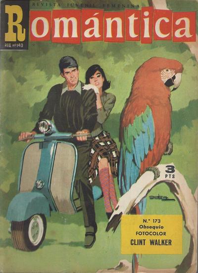 Cover for Romantica (Ibero Mundial de ediciones, 1961 series) #173