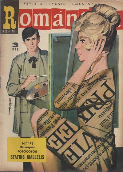 Cover for Romantica (Ibero Mundial de ediciones, 1961 series) #175