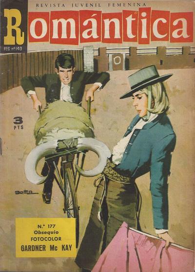 Cover for Romantica (Ibero Mundial de ediciones, 1961 series) #177