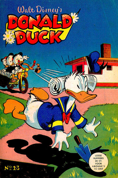 Cover for Donald Duck (Geïllustreerde Pers, 1952 series) #13/1953
