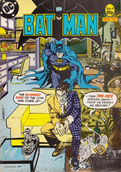 Cover for Batman Monthly (Egmont UK, 1988 series) #4