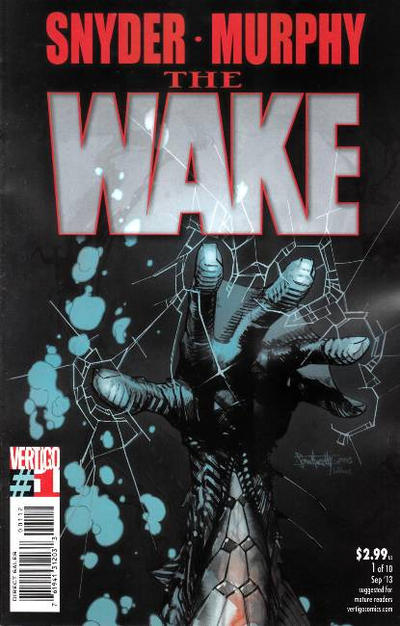 Cover for The Wake (DC, 2013 series) #1 [Variant Cover]