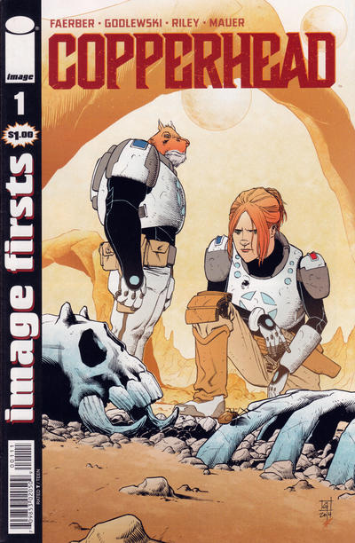 Cover for Image Firsts: Copperhead (Image, 2015 series) #1