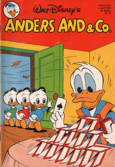Cover for Anders And & Co. (Egmont, 1949 series) #14/1984