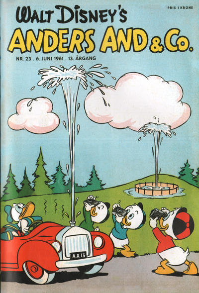 Cover for Anders And & Co. (Egmont, 1949 series) #23/1961