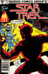 Cover for Star Trek (Marvel, 1980 series) #15 [Newsstand]