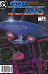 Cover for Star Trek: The Next Generation (DC, 1988 series) #1 [Canadian Newsstand]