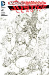 Cover Thumbnail for Justice League (2011 series) #47 [Harley's Little Black Book Jim Lee Sketch Variant]