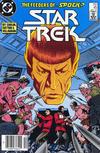 Cover Thumbnail for Star Trek (1984 series) #45 [Newsstand]