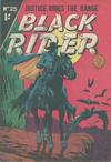 Cover for Black Rider (Horwitz, 1954 series) #25