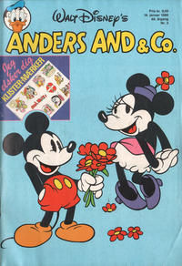 Cover Thumbnail for Anders And & Co. (Egmont, 1949 series) #3/1988