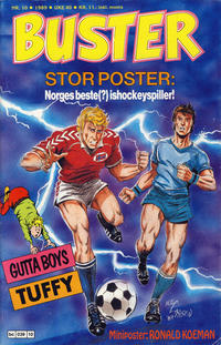 Cover Thumbnail for Buster (Semic, 1984 series) #10/1989