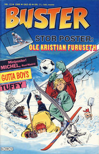 Cover Thumbnail for Buster (Semic, 1984 series) #12/1989