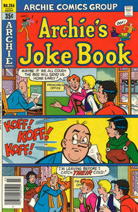 Cover Thumbnail for Archie's Joke Book Magazine (Archie, 1953 series) #254