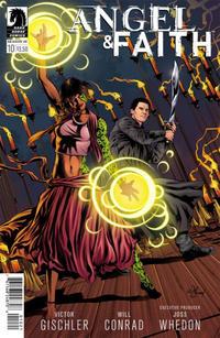 Cover Thumbnail for Angel & Faith Season 10 (Dark Horse, 2014 series) #10 [Will Conrad Variant Cover]