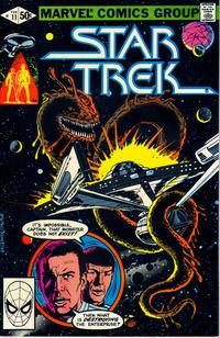 Cover Thumbnail for Star Trek (Marvel, 1980 series) #11 [Direct]