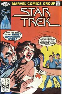 Cover Thumbnail for Star Trek (Marvel, 1980 series) #13 [Direct]