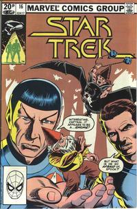 Cover Thumbnail for Star Trek (Marvel, 1980 series) #16 [British]