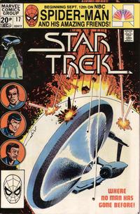 Cover Thumbnail for Star Trek (Marvel, 1980 series) #17 [British]