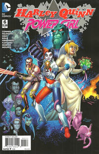 Cover Thumbnail for Harley Quinn and Power Girl (DC, 2015 series) #6