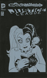 Cover Thumbnail for Justice League (DC, 2011 series) #47 [Harley's Little Black Book Jim Lee Color Variant]