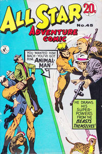 Cover Thumbnail for All Star Adventure Comic (K. G. Murray, 1959 series) #45