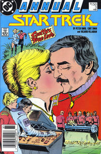 Cover Thumbnail for Star Trek Annual (DC, 1985 series) #3 [Newsstand]