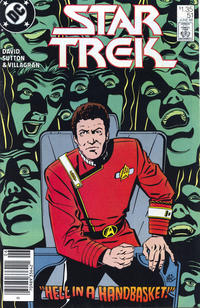 Cover Thumbnail for Star Trek (DC, 1984 series) #51 [Canadian]