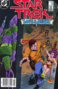 Cover Thumbnail for Star Trek (DC, 1984 series) #38 [Canadian]