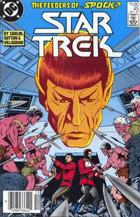 Cover Thumbnail for Star Trek (DC, 1984 series) #45 [Canadian]
