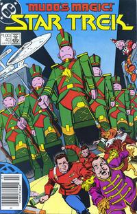 Cover Thumbnail for Star Trek (DC, 1984 series) #40 [Canadian]