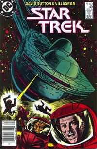 Cover Thumbnail for Star Trek (DC, 1984 series) #49 [Newsstand]