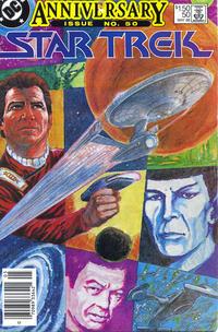 Cover Thumbnail for Star Trek (DC, 1984 series) #50 [Newsstand]