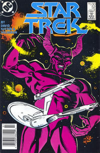Cover Thumbnail for Star Trek (DC, 1984 series) #52 [Newsstand]