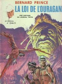 Cover Thumbnail for Bernard Prince (Le Lombard, 1969 series) #6 - La loi de l'ouragan