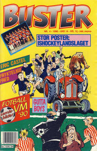 Cover Thumbnail for Buster (Semic, 1984 series) #4/1990