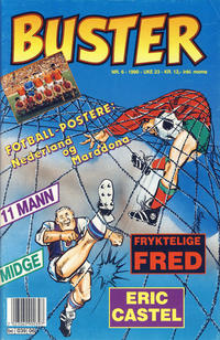 Cover Thumbnail for Buster (Semic, 1984 series) #6/1990