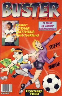 Cover Thumbnail for Buster (Semic, 1984 series) #9/1990