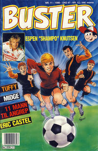 Cover Thumbnail for Buster (Semic, 1984 series) #11/1990